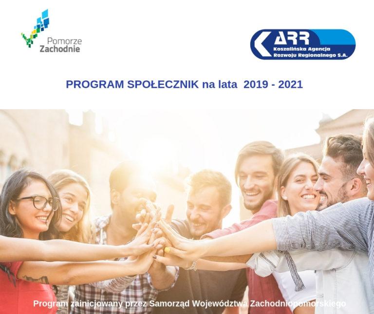 Społecznik na lata 2019-2021 – Program Marszałkowski